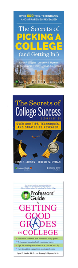 The Secrets of College Success (Professors' Guide) and Professors' Guide to Getting Good Grades in College